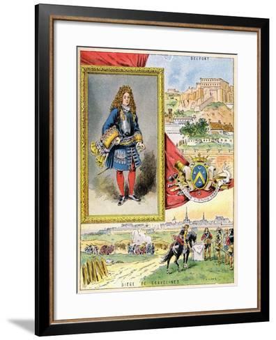 Sébastien Le Prestre De Vauban, French Military Engineer, 1898--Framed Art Print