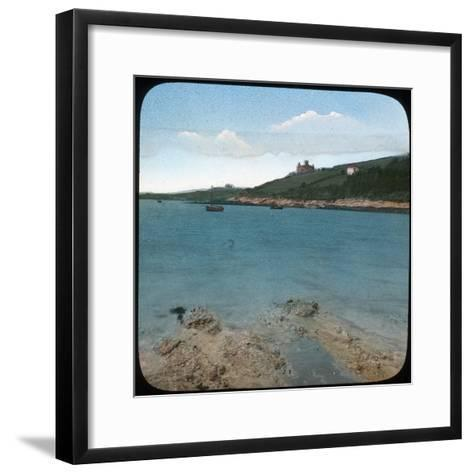 St Mawes Castle, Cornwall, Late 19th or Early 20th Century--Framed Art Print