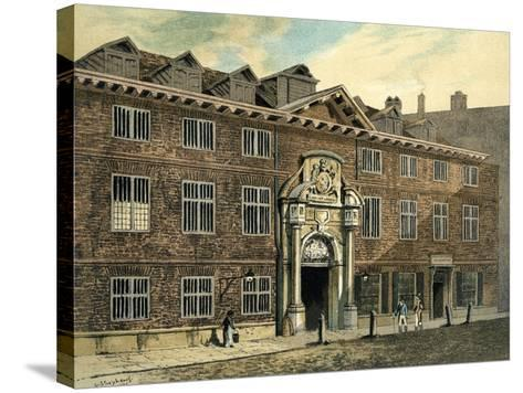 Blackwell Hall, City of London, 1886--Stretched Canvas Print