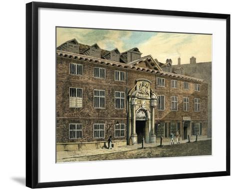 Blackwell Hall, City of London, 1886--Framed Art Print