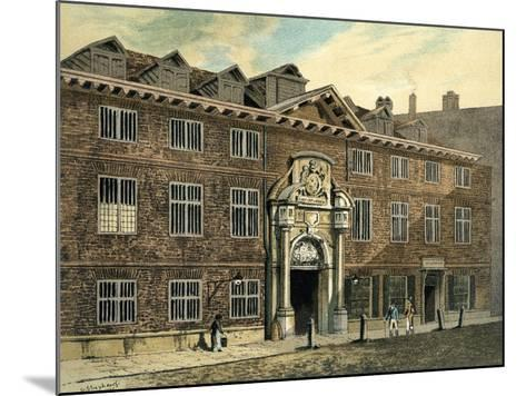 Blackwell Hall, City of London, 1886--Mounted Giclee Print
