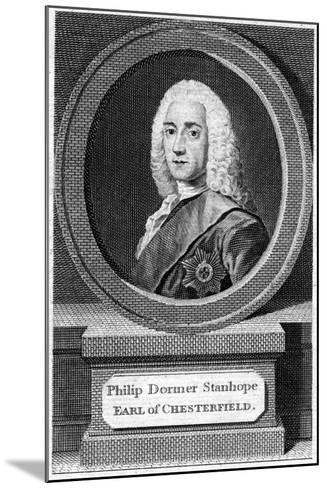 Philip Dormer Stanhope (1694-177), 4th Earl of Chesterfield, 19th Century--Mounted Giclee Print