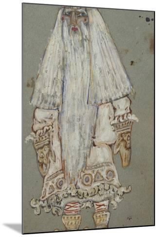 Ded Moroz. Costume Design for the Theatre Play Snow Maiden by A. Ostrovsky, 1912-Nicholas Roerich-Mounted Giclee Print