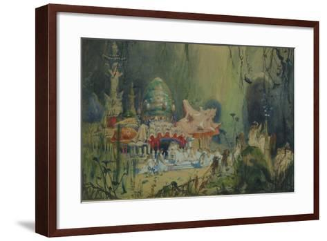 Underwater Kingdom. Stage Design for the Opera Rusalka by A. Dargomyzhsky, 1884-Viktor Mikhaylovich Vasnetsov-Framed Art Print