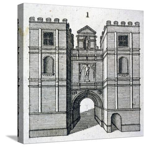 Aldgate, London, C1800--Stretched Canvas Print