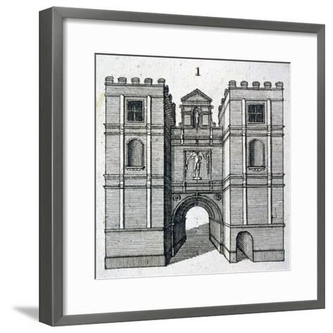 Aldgate, London, C1800--Framed Art Print