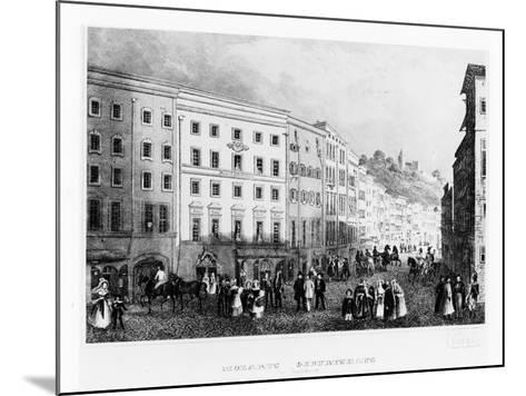 The House in Salzburg in Which Mozart Was Born in 1791, (Mid 19th Centur)--Mounted Giclee Print