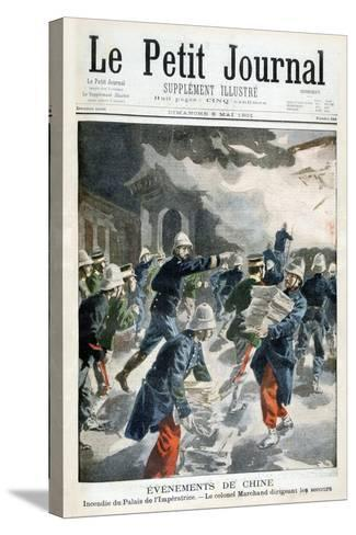 Events in China, Incident at the Imperial Palace, 1901--Stretched Canvas Print