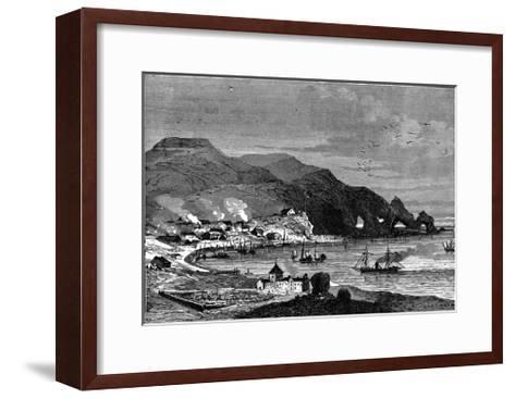 Thorshavn, the Capital of the Faroe Islands, C1890--Framed Art Print