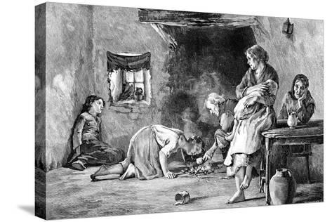 The Irish Famine, 1845-1849--Stretched Canvas Print