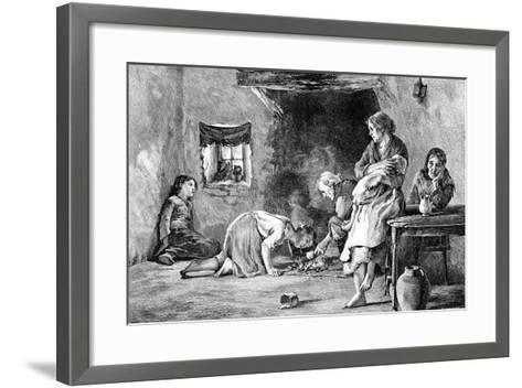 The Irish Famine, 1845-1849--Framed Art Print
