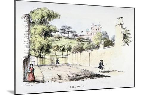 Greenwich Park, Greenwich, London, C1850-T Turner-Mounted Giclee Print