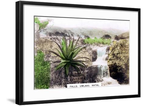 Umlaas Falls, South Africa, C1920S--Framed Art Print
