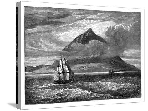 The Peak of Tenerife, Canary Islands, C1890--Stretched Canvas Print
