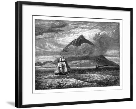 The Peak of Tenerife, Canary Islands, C1890--Framed Art Print