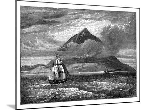 The Peak of Tenerife, Canary Islands, C1890--Mounted Giclee Print
