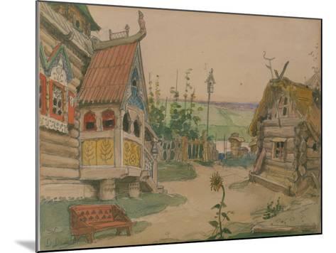 Berendeyevka. Stage Design for the Opera Snow Maiden by N. Rimsky-Korsakov, 1885-Viktor Mikhaylovich Vasnetsov-Mounted Giclee Print