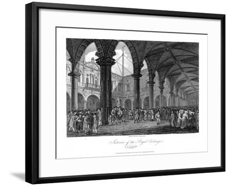 Royal Exchange, London, Late 18th Century--Framed Art Print
