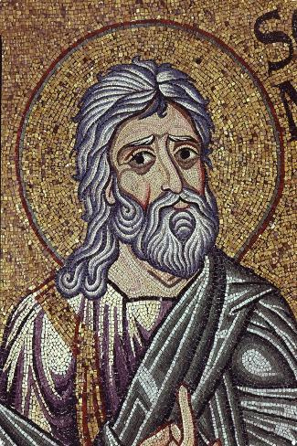 The Prophet Zephaniah (Detail of Interior Mosaics in the St. Mark's Basilic), 12th Century--Stretched Canvas Print
