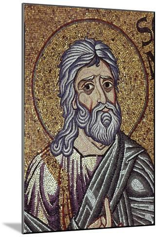 The Prophet Zephaniah (Detail of Interior Mosaics in the St. Mark's Basilic), 12th Century--Mounted Giclee Print