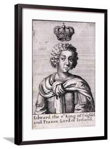 Edward V, King of England, C1485--Framed Art Print