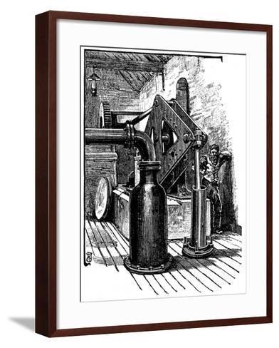 South Durham Salt Works, 1884--Framed Art Print