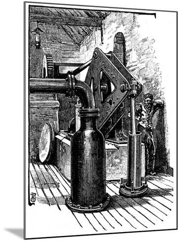 South Durham Salt Works, 1884--Mounted Giclee Print