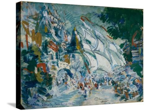Stage Design for the Opera Sadko by N. Rimsky-Korsakov, 1906-Konstantin Alexeyevich Korovin-Stretched Canvas Print