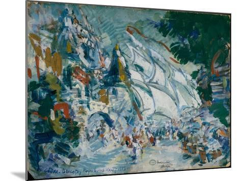 Stage Design for the Opera Sadko by N. Rimsky-Korsakov, 1906-Konstantin Alexeyevich Korovin-Mounted Giclee Print