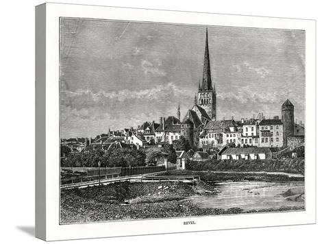 Revel, Estonia, 1879--Stretched Canvas Print