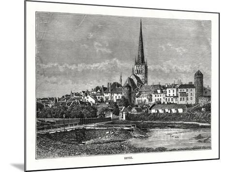 Revel, Estonia, 1879--Mounted Giclee Print