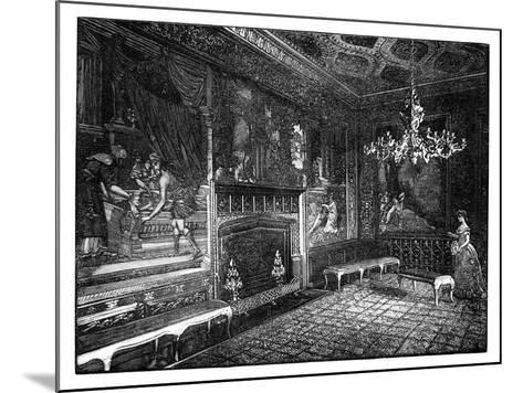 The Tapestry Room, St James's Palace, London--Mounted Giclee Print