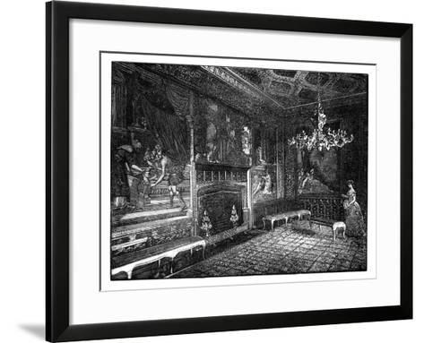 The Tapestry Room, St James's Palace, London--Framed Art Print