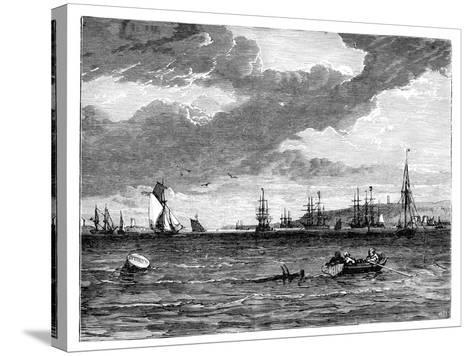 Spithead, Hampshire, C1888--Stretched Canvas Print