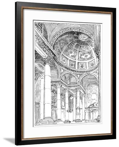 St Stephen's Walbrook, 1899-Reginald Blomfield-Framed Art Print