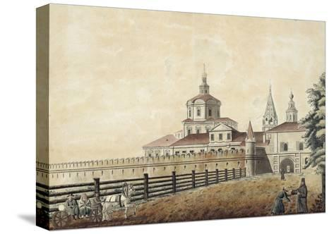 The St. Andronik Monastery in Moscow, 1780S-Francesco Camporesi-Stretched Canvas Print