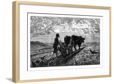 A French Agriculturist, C1890--Framed Art Print