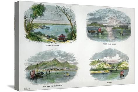 Views of the Chief Towns and Ports of Japan, C1880--Stretched Canvas Print