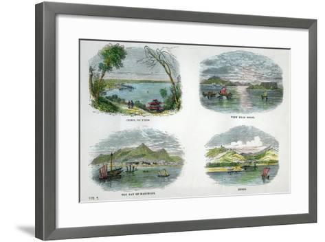 Views of the Chief Towns and Ports of Japan, C1880--Framed Art Print