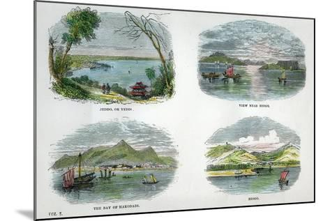 Views of the Chief Towns and Ports of Japan, C1880--Mounted Giclee Print
