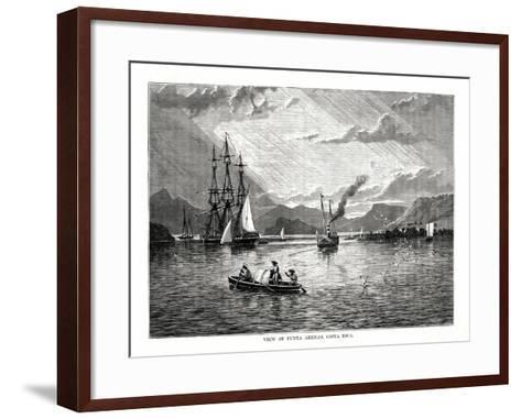View of Punta Arenas, Costa Rica, 1877--Framed Art Print