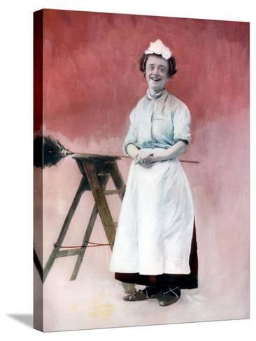 Louie Freear in the Lady Slavey, C1902- Ellis & Walery-Stretched Canvas Print