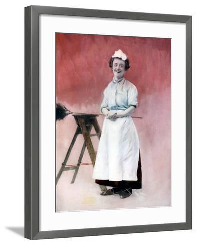 Louie Freear in the Lady Slavey, C1902- Ellis & Walery-Framed Art Print