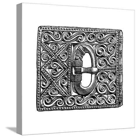 Buckle from Smithfield, London, 1893--Stretched Canvas Print