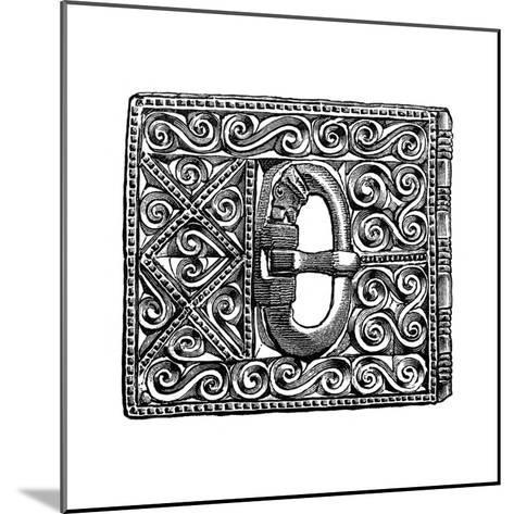 Buckle from Smithfield, London, 1893--Mounted Giclee Print