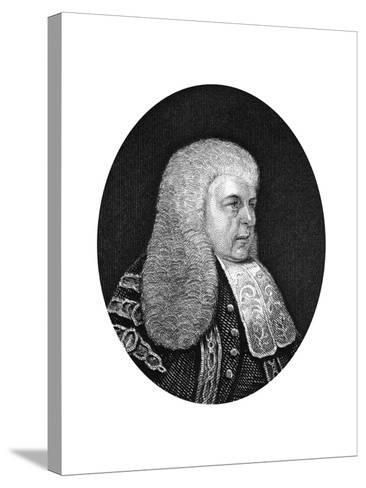 Charles Christopher Pepys, 1st Earl of Cottenham, Lord Chancellor of England, 1877--Stretched Canvas Print