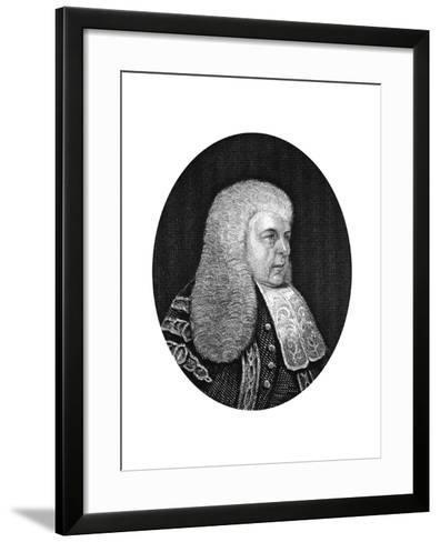 Charles Christopher Pepys, 1st Earl of Cottenham, Lord Chancellor of England, 1877--Framed Art Print