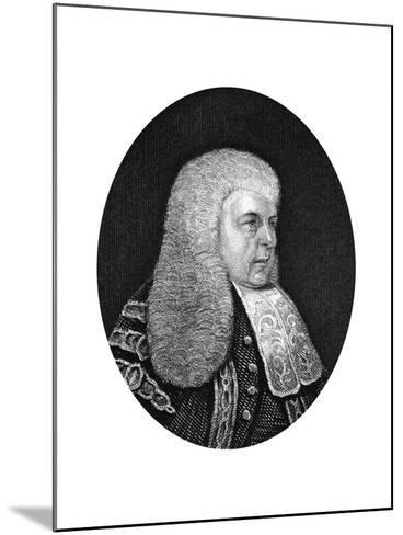 Charles Christopher Pepys, 1st Earl of Cottenham, Lord Chancellor of England, 1877--Mounted Giclee Print