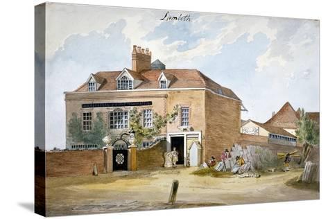 Coade Stone Factory, Narrow Wall, Lambeth, London, C1800--Stretched Canvas Print