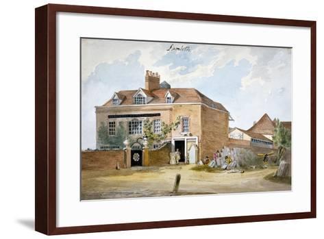 Coade Stone Factory, Narrow Wall, Lambeth, London, C1800--Framed Art Print
